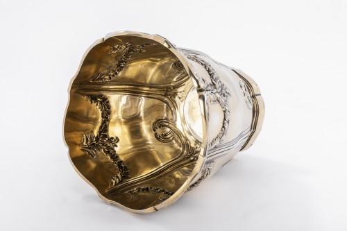 Antiquités - Vermeil COOLER by RISLER & CARRE 19th