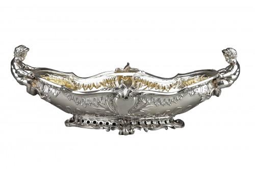 Orfèvre FROMENT-MEURICE, PARIS - Centerpiece solid silver  XIXe