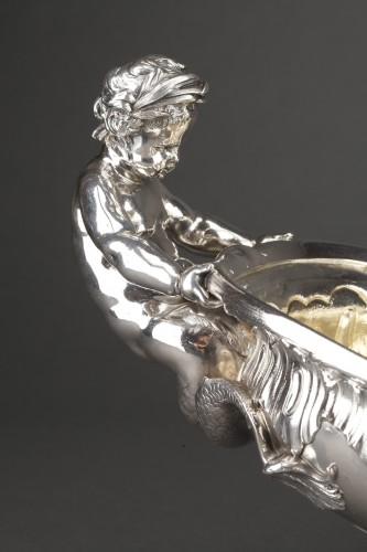 Orfèvre FROMENT-MEURICE, PARIS - Centerpiece solid silver  XIXe -