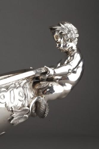 19th century - Orfèvre FROMENT-MEURICE, PARIS - Centerpiece solid silver  XIXe