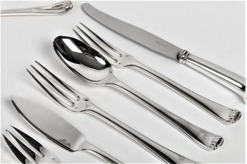 Puiforcat - Solid silver 158 pieces circa 1930 mazarin - Art Déco