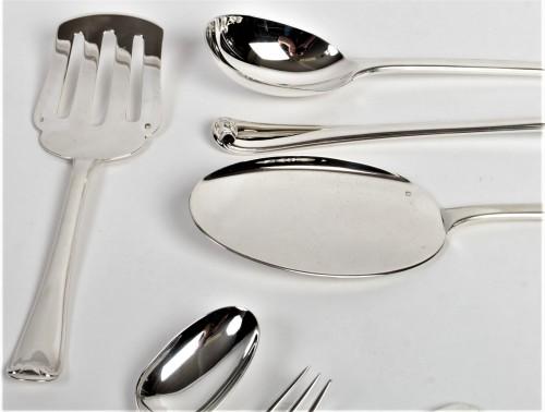 Antiquités - Puiforcat - Solid silver 158 pieces circa 1930 mazarin