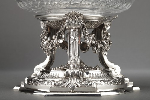 Napoléon III - Goldsmith BOIN TABURET - Pair of cups in solid silver