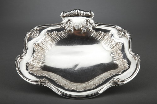 Antiquités - Goldsmith BOINTABURET - Pair of solid silver displays from the late 19th ce