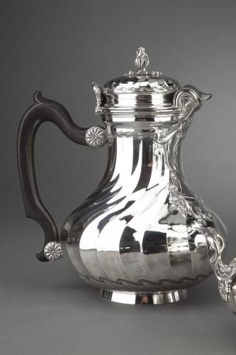 Goldsmith BOIN TABURET - Tea / Coffee service 4 pieces in solid silver plus -