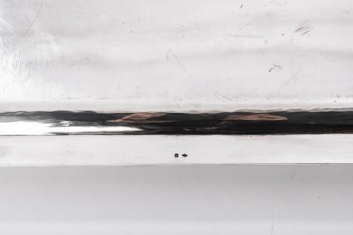 Goldsmith BLOCH ESCHWEGE - Rectangular solid silver tray Art deco -