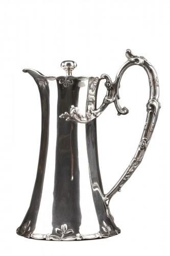 Goldsmith DEBAIN - Sterling silver jug  circa 1900