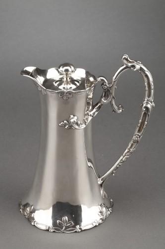 Goldsmith DEBAIN - Sterling silver jug  circa 1900 -