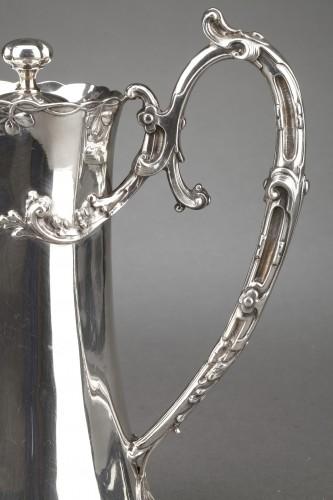20th century - Goldsmith DEBAIN - Sterling silver jug  circa 1900