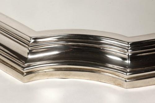Goldsmith LAPPARRA - Table top 3 parts circa 1930 Art Déco - Antique Silver Style Art Déco