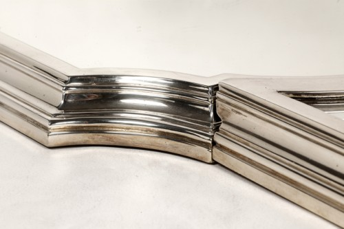 Antique Silver  - Goldsmith LAPPARRA - Table top 3 parts circa 1930 Art Déco
