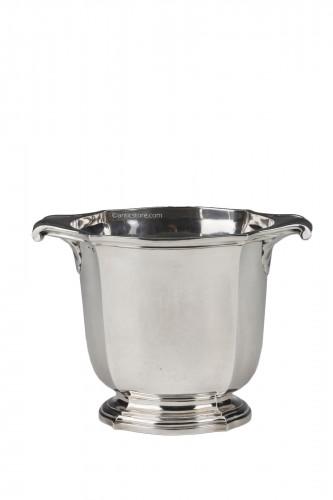 Silversmith TETARD - Solid silver ice bucket circa 1930