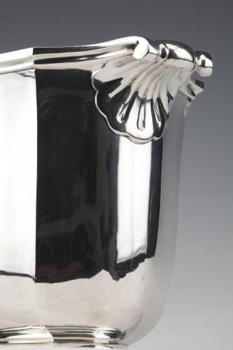 Antique Silver  - Silversmith TETARD - Solid silver ice bucket circa 1930
