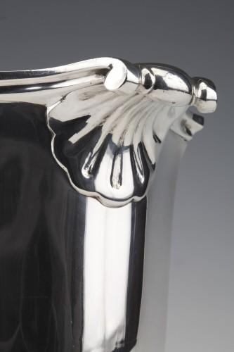 Silversmith TETARD - Solid silver ice bucket circa 1930 -