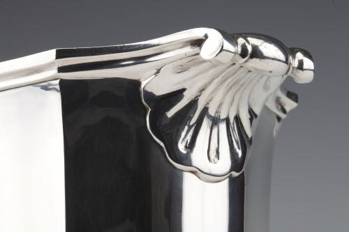 20th century - Silversmith TETARD - Solid silver ice bucket circa 1930