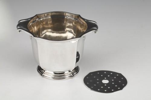 Silversmith TETARD - Solid silver ice bucket circa 1930 - Art Déco