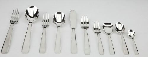 Silversmith TETARD & Peter - sterling silver FLATWARE art deco CIRCA1930