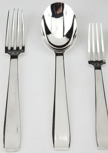 Silversmith TETARD & Peter - sterling silver FLATWARE art deco CIRCA1930 - Antique Silver Style Art Déco