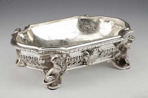 Antiquités - Goldsmith ODIOT - Important Jardiniere Napoleon III Period circa 1850