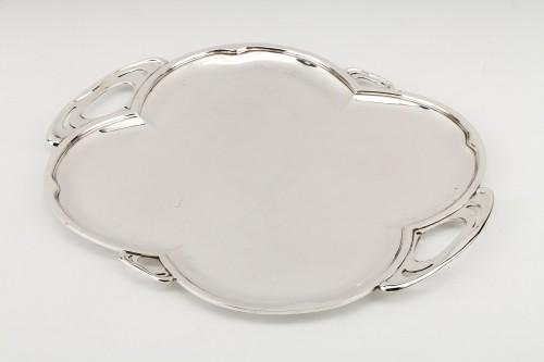 Goldsmith DEBAIN - Solid silver serving tray -