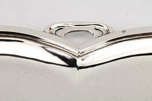 20th century - Goldsmith DEBAIN - Solid silver serving tray