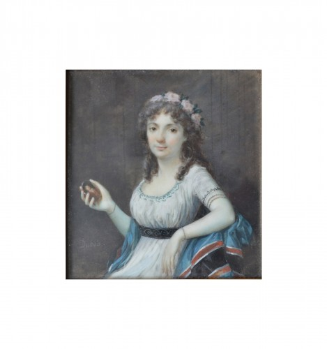 Portrait of a Lady by Frédéric Dubois