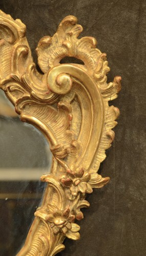 Pair of genoese Rococo Mirrors  -