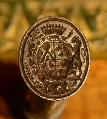 Objects of Vertu  - A Louis XV iron sealing-wax case