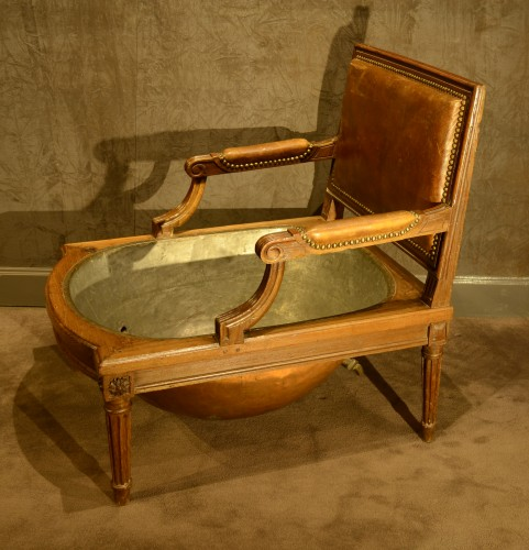 Seating  - A Louis XVI Half-tub
