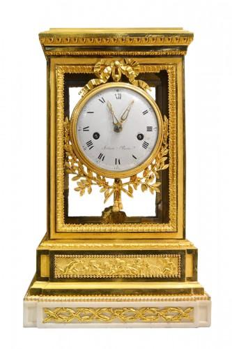A fine Louis XVI ormolu Mantel Clock