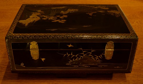 A  Japanese lacquer box -