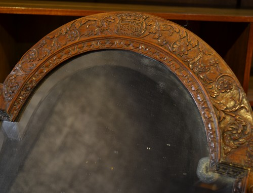 A dressing table mirror - Mirrors, Trumeau Style Louis XIV