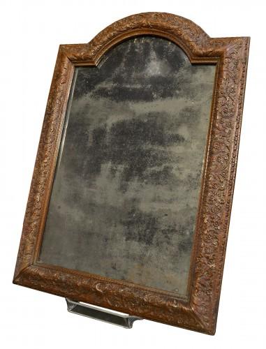 Louis XIV frame in Bagard wood, mounted in mirror