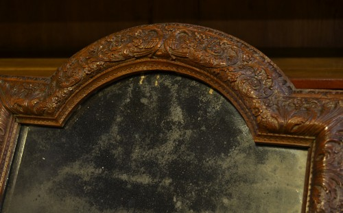 Mirrors, Trumeau  - Louis XIV frame in Bagard wood, mounted in mirror