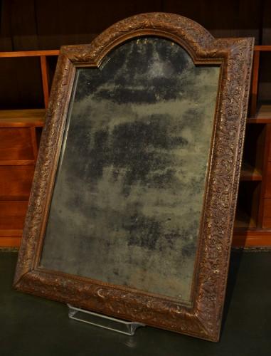 Louis XIV frame in Bagard wood, mounted in mirror -