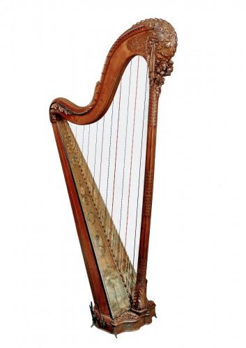 A fine Louis XVI harp by Naderman