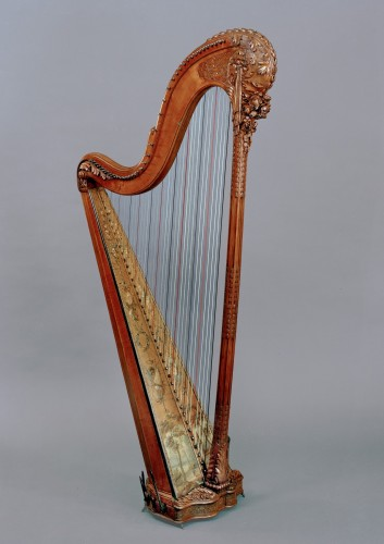 Curiosities  - A fine Louis XVI harp by Naderman