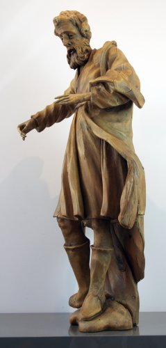 Sculpture  - 18th century Baroque sculpture, Saint James the Greater