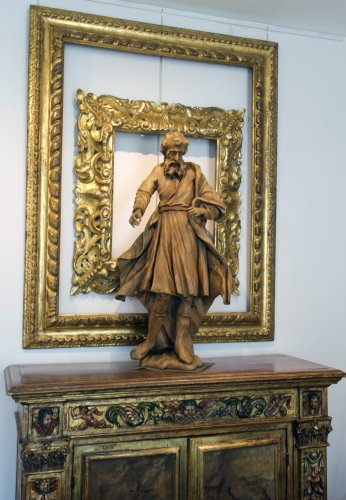 18th century Baroque sculpture, Saint James the Greater -