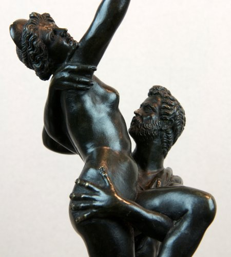 The abduction of a Sabine - Italy late 17th century - Sculpture Style Louis XIV