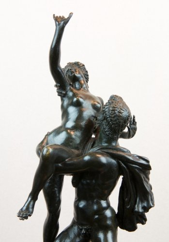 Sculpture  - The abduction of a Sabine - Italy late 17th century