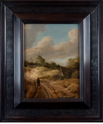 17th Century Dutch School - Nordic landscape