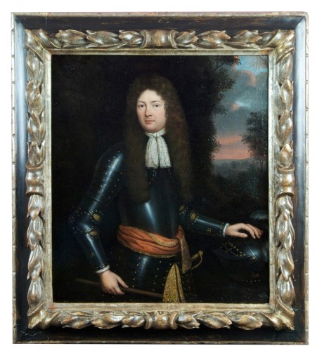 Portrait d'un prince d'Orange-Nassau - Attribué à Henri Gascard (1635-1701)
