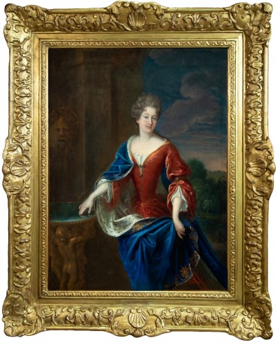 Portrait of the Princess of Conti - Attributed to François de Troy and his workshop
