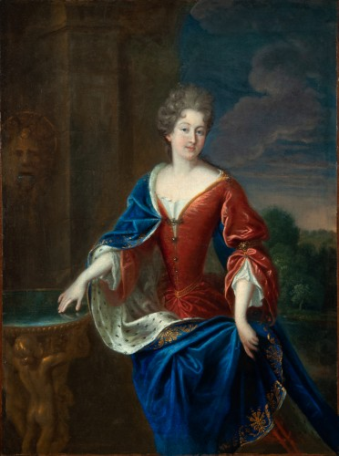 Portrait of the Princess of Conti - Attributed to François de Troy and his workshop -