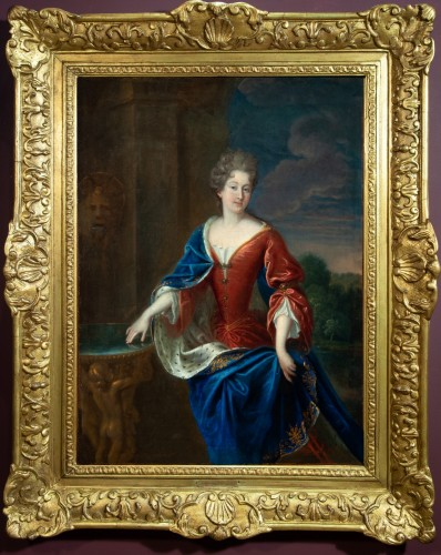 17th century - Portrait of the Princess of Conti - Attributed to François de Troy and his workshop