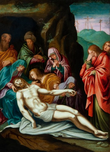 The Lamentation of Christ - Italian School of the 17th Century