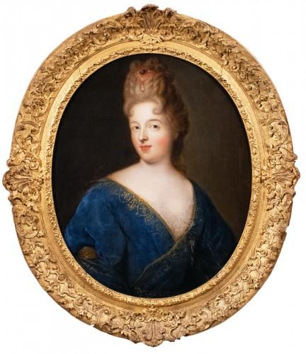 Portrait of the Duchess of Fontanges - François de Troy & Atelier (1645-1730)