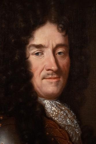 Portrait of Eymard de la Grée. Workshop of Pierre Mignard (1612-1695) - Paintings & Drawings Style Louis XIV
