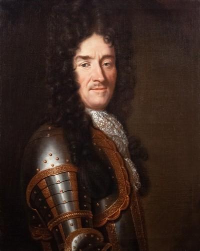 Paintings & Drawings  - Portrait of Eymard de la Grée. Workshop of Pierre Mignard (1612-1695)
